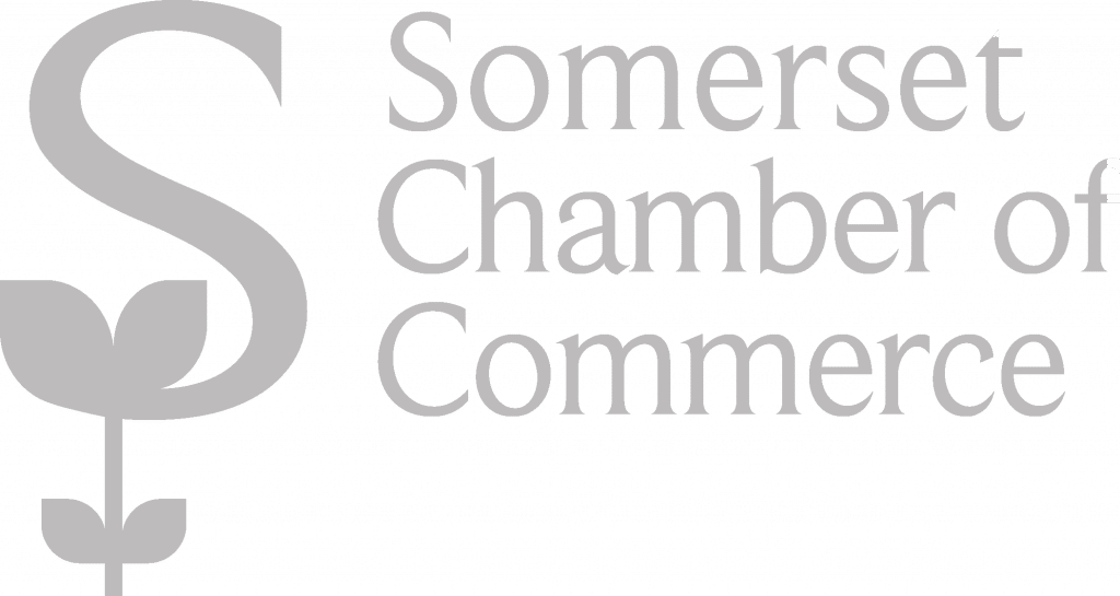 Somerset Chamber of Commerce Logo Grey for Connectable SW Ltd - Web design agency in Taunton and Somerset