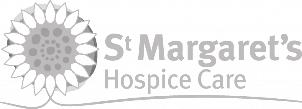 St Margarets Hospice Logo Grey for Connectable SW Ltd - Web design agency in Taunton and Somerset