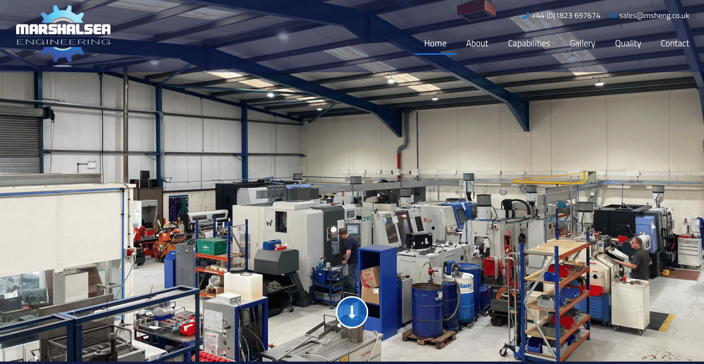 Marshalsea Engineering Website Home Page