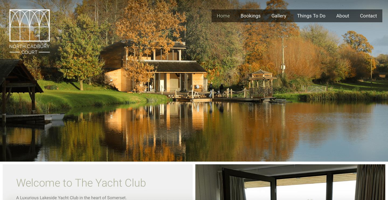 North Cadbury Court Yacht Club Website Home Page